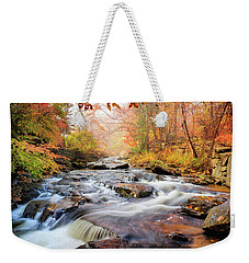 Fall At Gunstock Brook I Weekender Tote Bag