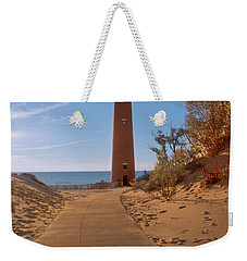 Fall At Little Point Sable Light Weekender Tote Bag