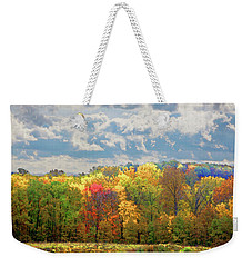 Fall At Shaw Weekender Tote Bag