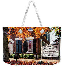 Fall At The Gold Museum Weekender Tote Bag
