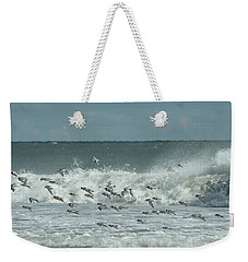 Fall At The Shore Weekender Tote Bag