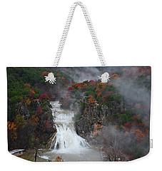Fall At Turner Falls Weekender Tote Bag