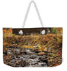 Fall Barn  Weekender Tote Bag
