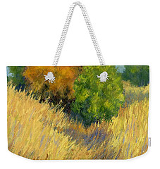 Fall Begins Weekender Tote Bag