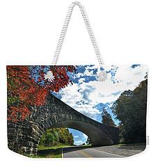 Fall Bridge Weekender Tote Bag