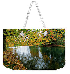 Fall Colors At Laurelhurst Park Portland Oregon Weekender Tote Bag