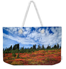 Fall Colors At Mount Rainier Weekender Tote Bag
