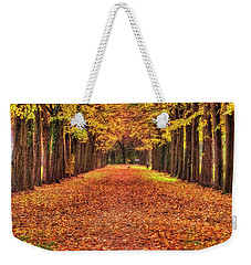 Fall Colors Avenue Weekender Tote Bag