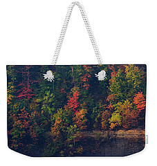 Weekender Tote Bag featuring the digital art Fall Colors by Christopher Meade