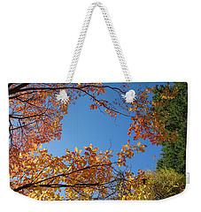 Fall Colors In Hoyt Arboretum Weekender Tote Bag