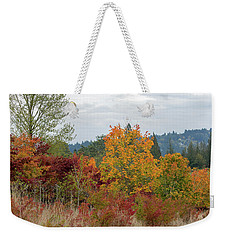 Fall Colors In Oregon Weekender Tote Bag by Jit Lim