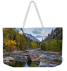 Fall Colors In The Canyon Weekender Tote Bag