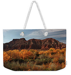 Fall Colors Near Zion Weekender Tote Bag