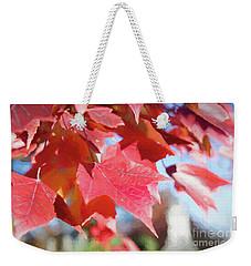 Fall Colors Oil Weekender Tote Bag