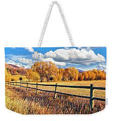 Fall Colors Sunset Colorado Weekender Tote Bag