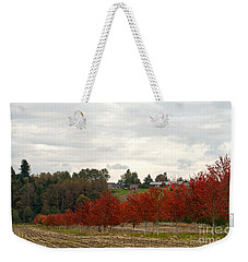 Fall Country Weekender Tote Bag by Victoria Harrington