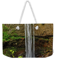 Weekender Tote Bag featuring the photograph Fall Creek Falls by Christopher Holmes