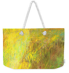 Weekender Tote Bag featuring the painting Fall Day On The Mesa by Frances Marino
