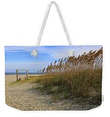 Fall Day On Tybee Island Weekender Tote Bag