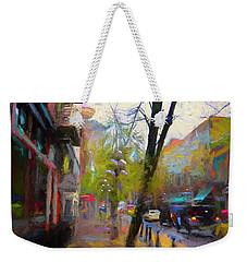 Fall Days Weekender Tote Bag
