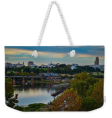 Fall Evening In Richmond Weekender Tote Bag