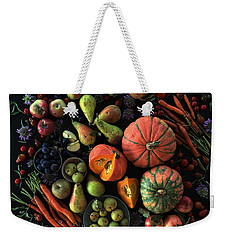 Fall Farmers' Market Weekender Tote Bag