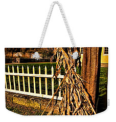 Fall Fence At Hale Farm Weekender Tote Bag