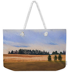 Fall Fields Of The Shenandoah Weekender Tote Bag by Kevin Blackburn