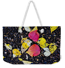 Fall Floor Weekender Tote Bag
