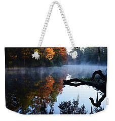 Fall Fog Weekender Tote Bag