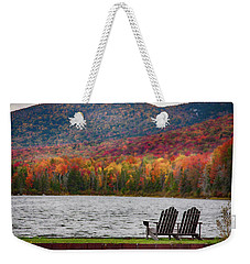 Fall Foliage At Noyes Pond Weekender Tote Bag