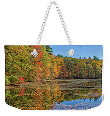 Fall Foliage Weekender Tote Bag by Brian MacLean