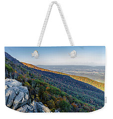 Fall Foliage In The Blue Ridge Mountains Weekender Tote Bag