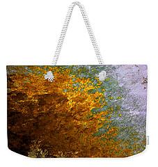 Weekender Tote Bag featuring the digital art Fall Foliage by John Krakora