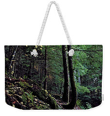 Fall Forest Weekender Tote Bag