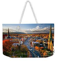 Fall Frontier Weekender Tote Bag