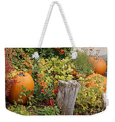 Fall Garden Weekender Tote Bag by Cynthia Powell