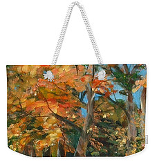 Fall Glory Weekender Tote Bag