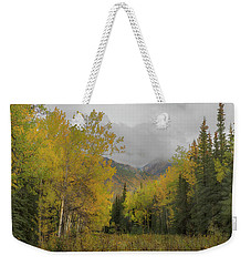 Fall Glow Weekender Tote Bag