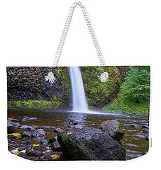 Weekender Tote Bag featuring the photograph Fall Gorge by Jonathan Davison