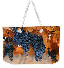 Fall Grapes Fall Colors Weekender Tote Bag