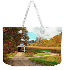 Fall Harvest - Parke County Weekender Tote Bag