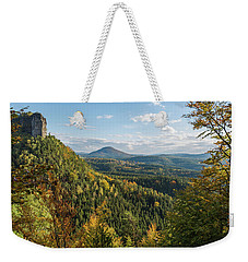 Fall In Bohemian Switzerland Weekender Tote Bag