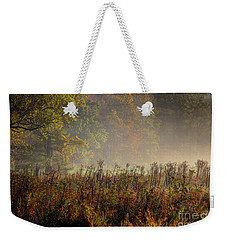Weekender Tote Bag featuring the photograph Fall In Cades Cove by Douglas Stucky