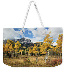 Fall In Kananaskis Weekender Tote Bag