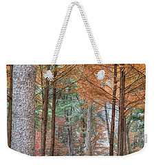 Fall In Korea Weekender Tote Bag