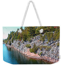 Fall In Muskoka Weekender Tote Bag by Claire Bull