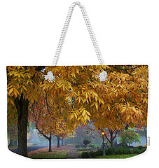 Fall In My Hometown Weekender Tote Bag