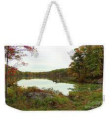 Fall In New York Weekender Tote Bag