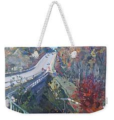 Fall In Silver Creek Georgetown  Weekender Tote Bag